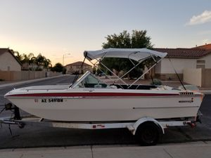 MOVING- MUST SELL!! INVADER -140 hp Evinrude Ski Boat, runs great! for Sale in Apache Junction, AZ