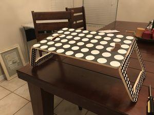 Folding Lap table - breakfast table for Sale in Tarpon Springs, FL