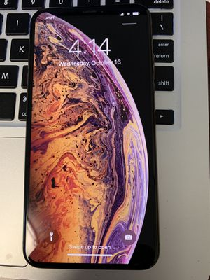 iPhone XS Max 64gb. Carrier AT&T H2O Cricket. for Sale in Seattle, WA