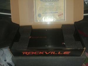 AMP ROCKVILLE 2400W for Sale in Corona, CA