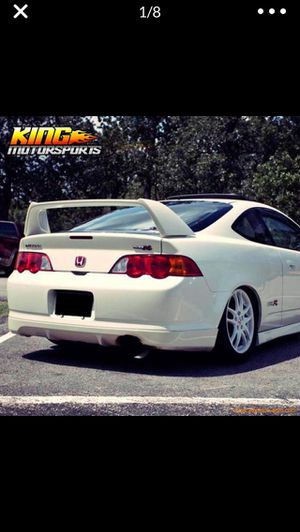 2002-2004 Acura Rsx Type S-A Spec Rear Lip Oem Honda Part, Premium White Pearl-Clean Paint , Asking $125.00 Firm hardware included for Sale in Norwalk, CA