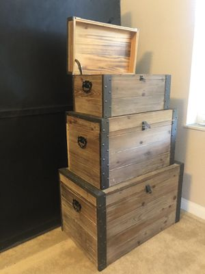 3x treasure trunks for Sale in Claremont, CA
