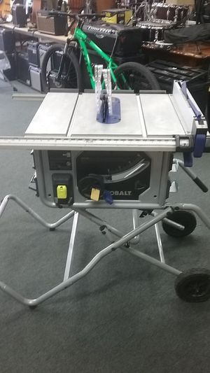 """Kobalt 10"""" Table Saw on Cart for Sale in National City, CA"""