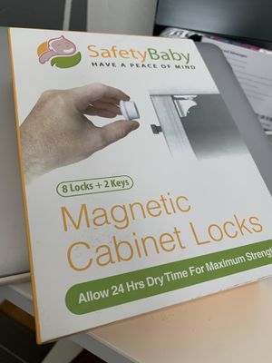 SafetyBaby - Magentic Cabinet Locks for Sale in Fremont, CA