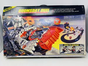1998 DOOMSDAY DUEL Vintage Race Car Set TYCO Electric Racing Track Playset for Sale in El Monte, CA