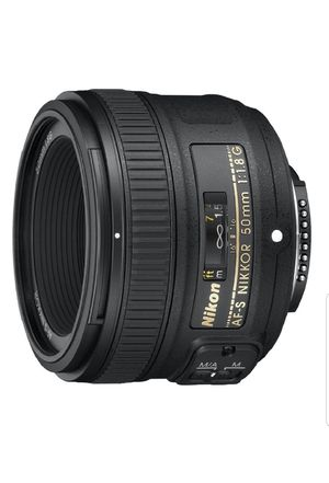 Brand new NiKON 50MM F1.8G KIT for Sale in Albany, NY