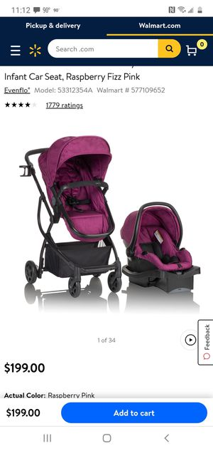 Baby carset.with base and stroller with bassinet combo. for Sale in Orlando, FL