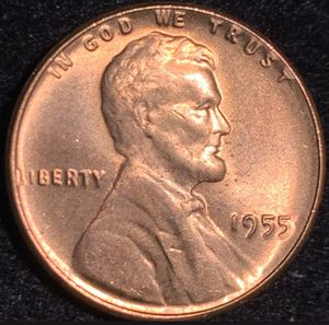 1955 Double die wheat penny for Sale in San Angelo, TX