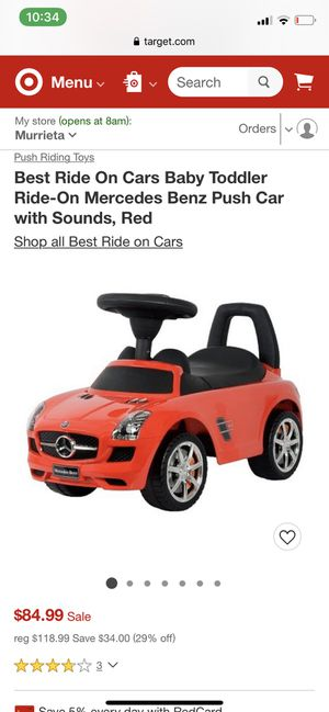 Ride on kids Mercedes car for Sale in Lakeside, CA