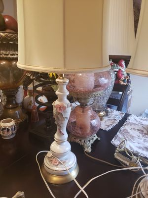 Porcelain lamps for Sale in Silver Spring, MD