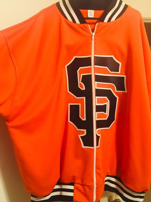 San Francisco Giants Track Zip up jacket for Sale, used for sale  Vallejo, CA
