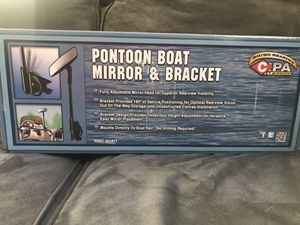 Pontoon Boat Mirror & Bracket for Sale in Beaverdam, VA