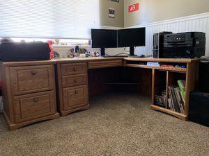 Corner Desk (and side drawer) (ONLY) for Sale in Salt Lake City, UT