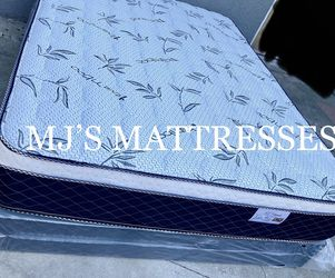 BRAND NEW BAMBOO PILLOW TOP MATTRESS ☘️‼️ BEST PRICES 🚛 WE DELIVER SAME DAY ☘️⭐️ for Sale in Lakewood,  CA