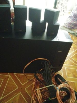 Bose Accoustimass 5.1 Theater surround system for Sale in Philadelphia, PA