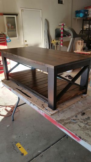 Custom coffee tables 4 TV stand for Sale in Oak Hills, CA