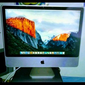 Apple iMac 20inch LCD flat screen All in One Desktop Computer / wifi / speakers / bluetooth / dvdrw / webcam for Sale in Queens, NY