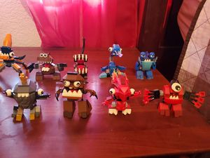 Lego mixels series monsters for Sale in Corona, CA