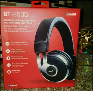 Bluetooth wireless headphones for Sale in Arlington, TX