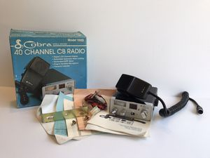Vintage 40 Channel CB Mini Mobile Radio for Sale in Long Beach, CA