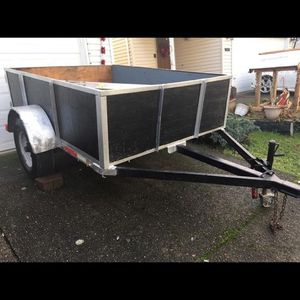 Trailer 8 X 12 And The Bed Is 6 By 8 for Sale in Hillsboro, OR