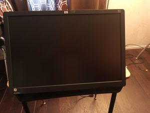 Hp computer monitor with arm for Sale in Downey, CA