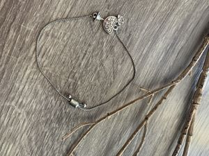 Silver color bracelet with tropical drink/margarita charm for Sale in Peoria, AZ