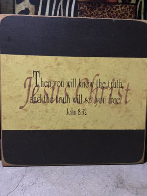 Kirkland Bible Scripture Wall Hanging Art for Sale in Arlington, TX