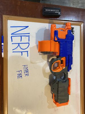 Two Nerf hyper fire guns for Sale in Huntingtown, MD