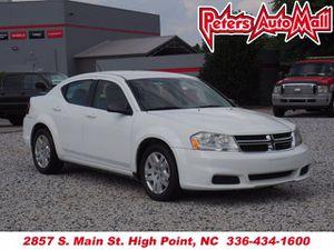 2014 Dodge Avenger for Sale in Greensboro, NC