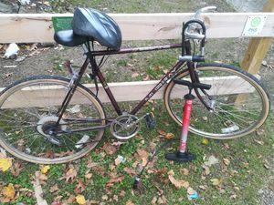 Bicycle, U lock, pump, and helmet for Sale in Philadelphia, PA