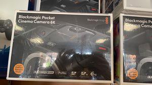 Blackmagic pocket 6K cinema camera for Sale in Santa Ana, CA