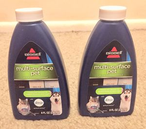BISSELL Multi Surface Pet Floor Cleaning Formula, 2 Pack, Green for Sale in Speedway, IN