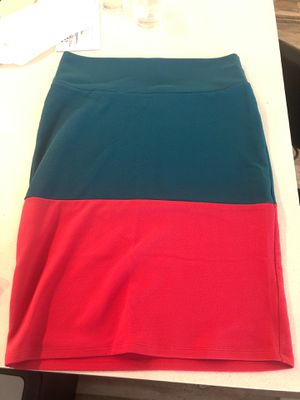 Size L blue & pink pencil skirt for Sale in Austin, TX