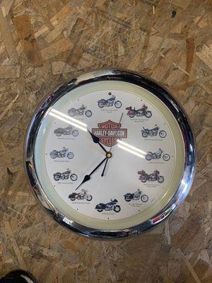 Harley Davidson clock for Sale in Inglewood, CA