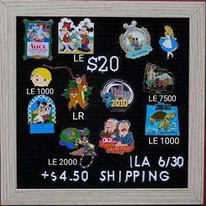 Disney Pins $20 for Sale in Hanson, MA