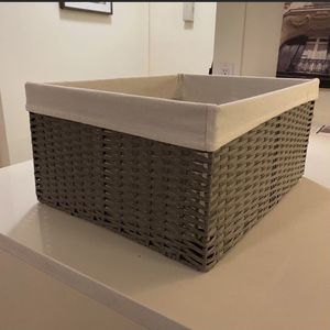 Container Store Large Woven Baskets for Sale in Brooklyn, NY