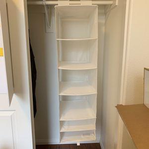 Closet organizer white 6 compartments for Sale in Chino, CA