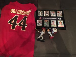 Goldschmidt Goldie Memorabilia for Sale in Tempe, AZ