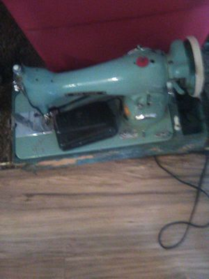 New home Antique collectors item Sewing machine for Sale in Stanton, CA