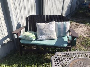 Patio or front porch furniture with cushions for Sale in Miami Springs, FL