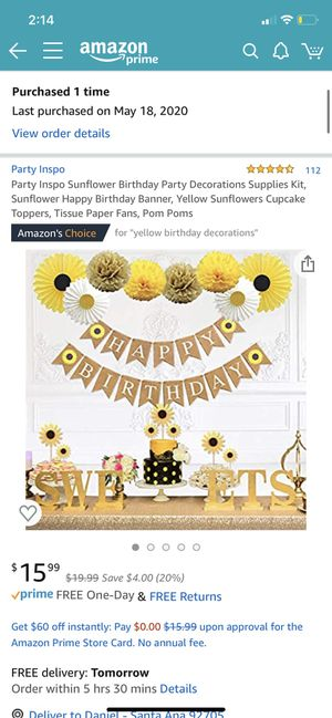 Sunflower/ you are my sunshine decorations for Sale in Santa Ana, CA