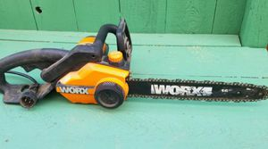 Worx 16 inch electric chainsaw for Sale in Tracy, CA