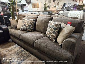 BLACK FRIDAY DEAL, Grey Sofa with Decorative Pilow, SKU#TC77204 for Sale in Santa Ana, CA