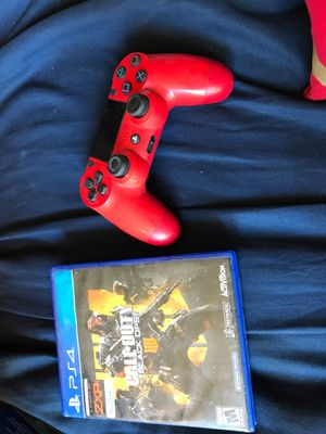 Ps4 controller + BLACK OPS 4 for Sale in Fresno, CA