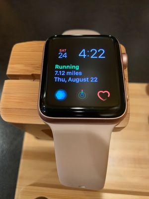 Apple Watch Series 3 38mm Cellular Rose Gold for Sale in North Providence, RI
