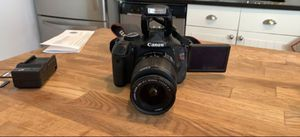 Canon t3i dslr Camera with Charger and 2memory cards for Sale in Laurel, MD