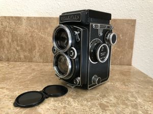 Vintage Rare Film Camera German Made Rolleiflex Photography for Sale in Grants Pass, OR