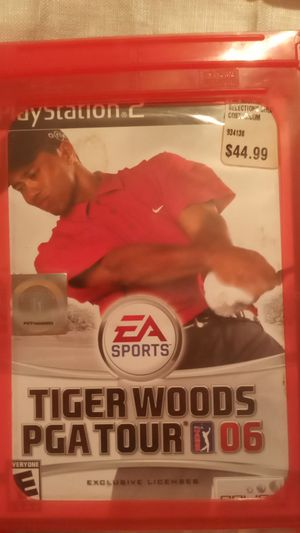"""NEVER OPENED"" Tiger Woods PGA Tour 06 For Playstation 2 for Sale in Reston, VA"