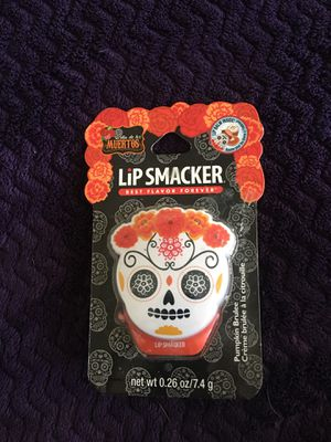 Day of The Dead Lip Smacker lip gloss, new for Sale in Perris, CA
